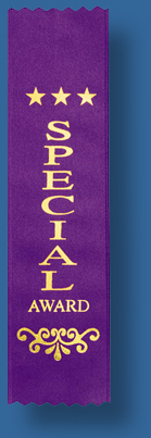 Special award ribbon