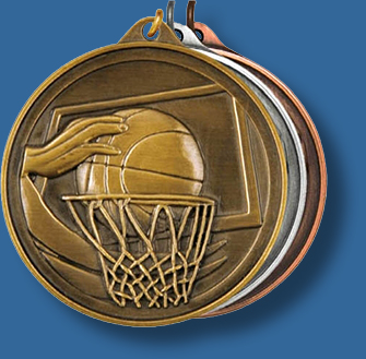 50mm Basketball medal antique series