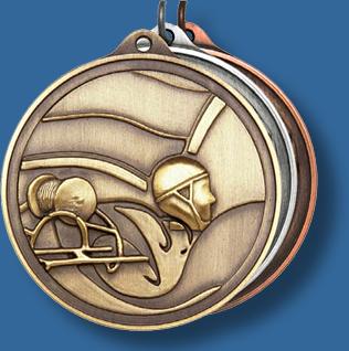 50mm Life Saving medal antique series