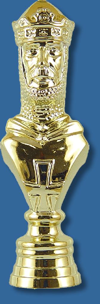Chess trophy figurine King