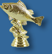 Bream, Perch trophy figurine