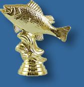 Bream, Perch trophy figurine