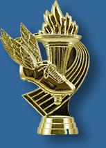 Theme athletics trophy