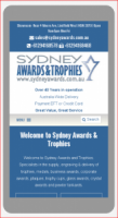 Mobile friendly Trophy website launched