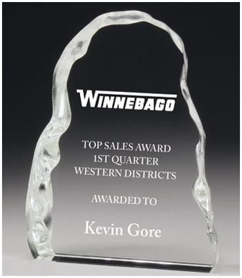 Crystal iceberg corporate award