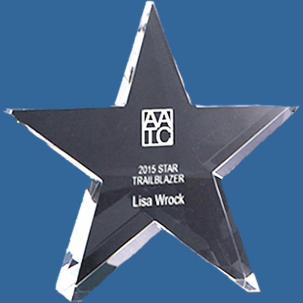 Star crystal business award