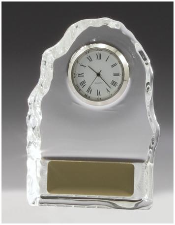 Crystal iceberg clock business award