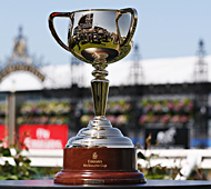 Melbourne Cup is a good example of a trophy cup.