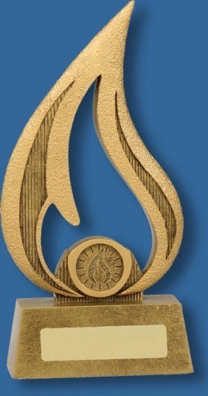 Achievement award flame series