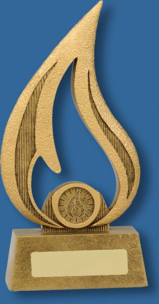 Achievement award flame series