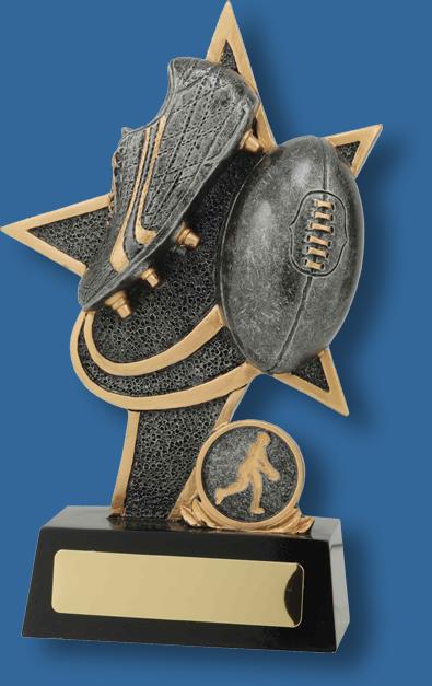 Aussie Rules Trophy superstar