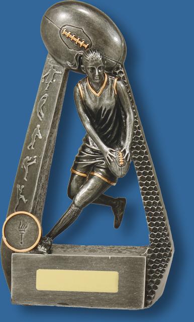 Aussie Rules female portal trophy