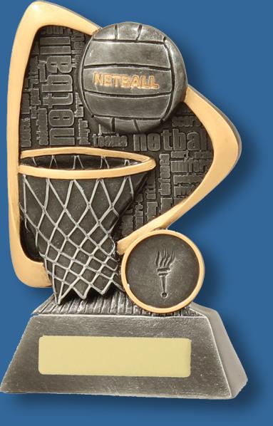 Grafitti Netball Trophy
