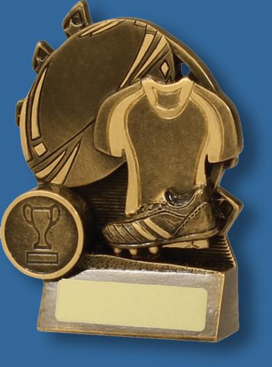 Rugby Mini blast trophy