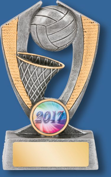 Netball trophy blade series