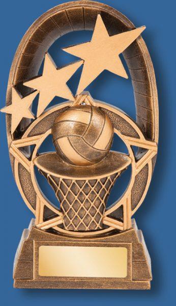 Netball trophy galaxy series 16cm