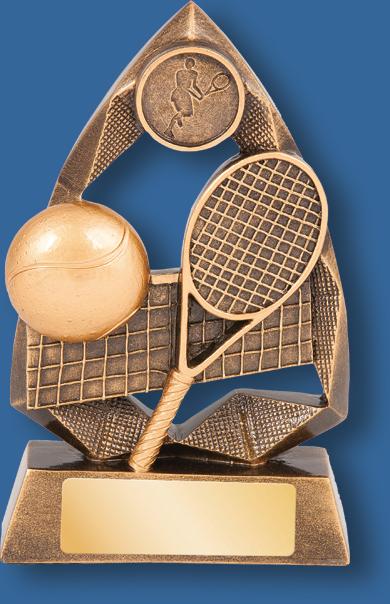 Tennis trophy jewel