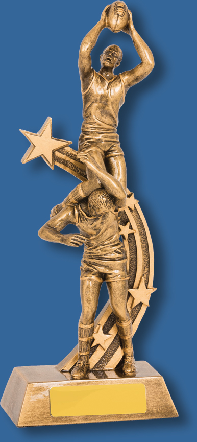 Aussie rules trophy specky