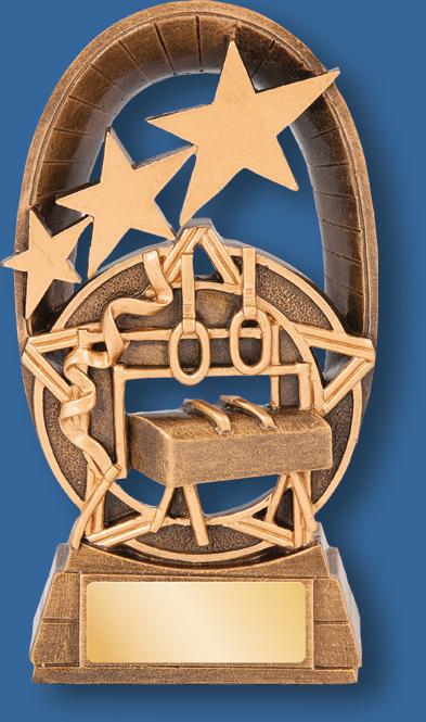 Galaxy Gymnastics trophy star