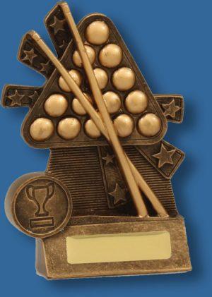Snooker balls and sticks xblast trophy