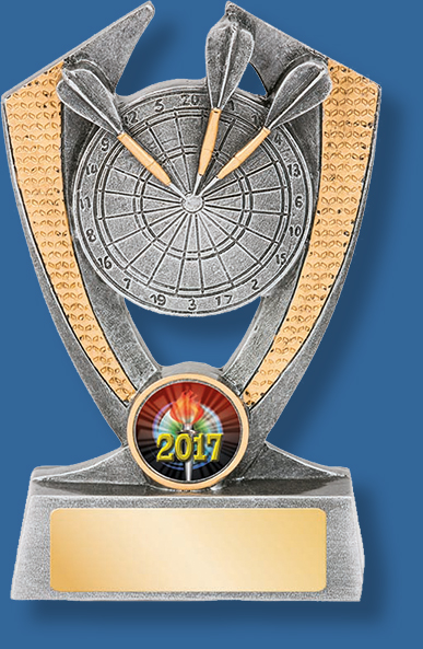 New 2017 Darts Trophy Resin