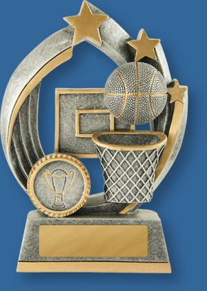 Basketball Trophies Atomic Series
