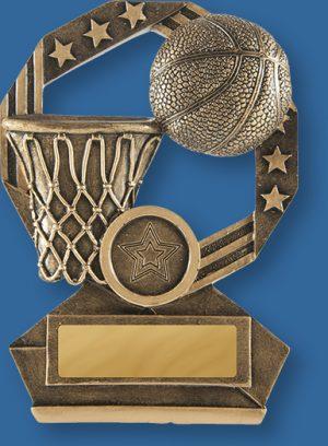 Basketball Trophies Bronzed Aussie Series