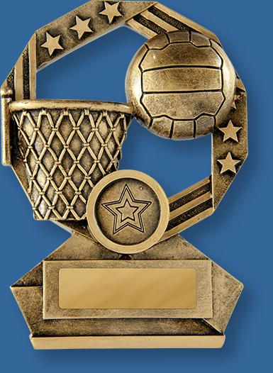 Netball Trophy Bronzed Aussie Series