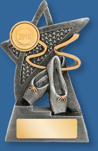 Ballet Trophy Gold insert