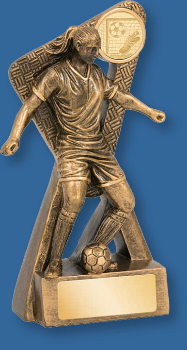 Female Soccer Trophy Stinger Series