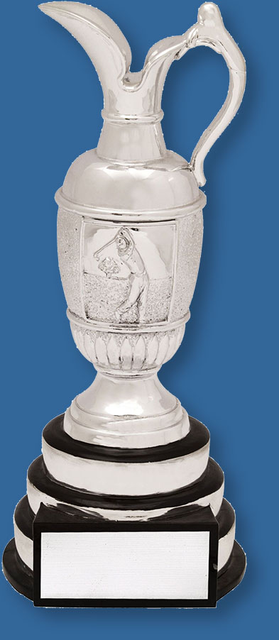 Golf Trophy Silver Golf Cup