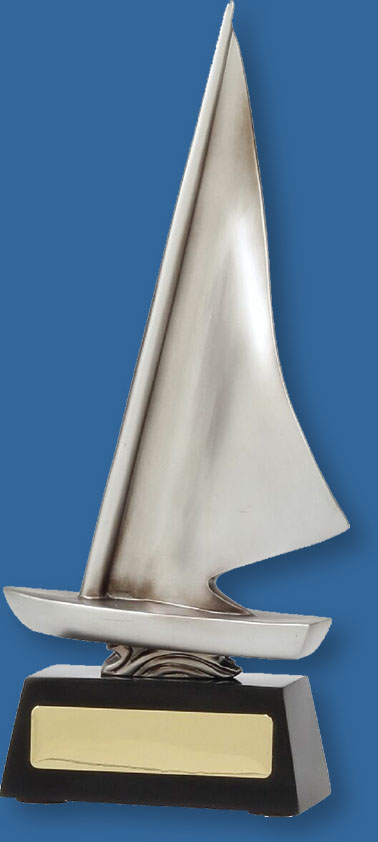 Sailing Trophy Abstract Dinghy
