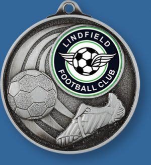Lindfield Football Club Soccer medal