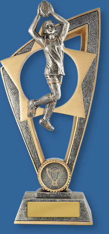 Female Australian Rules Trophy Ezi Rez