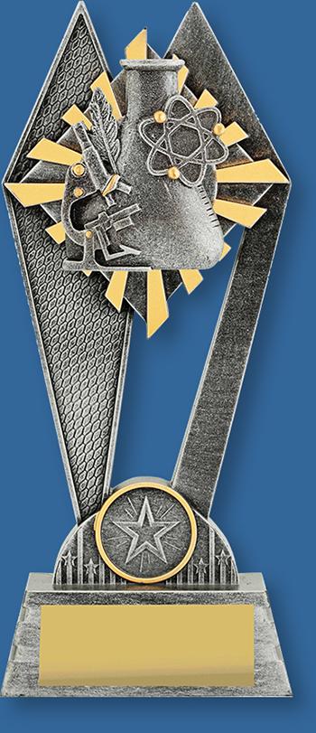 Science School Trophy Award Peak Series