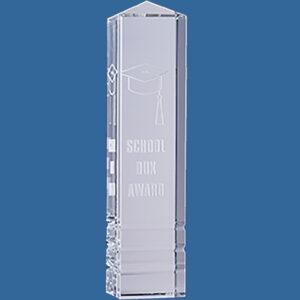 Tall crystal Rectangular spire
