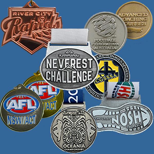 Custom Cast Medals