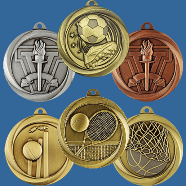 Brushed Econo Series Medals