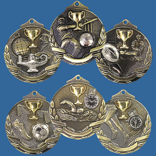 Two Tone Series Medals