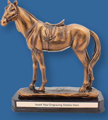 Champion Series.Superbly rendered bronze trophy for horse racing and events. A standout Equestrian Award.