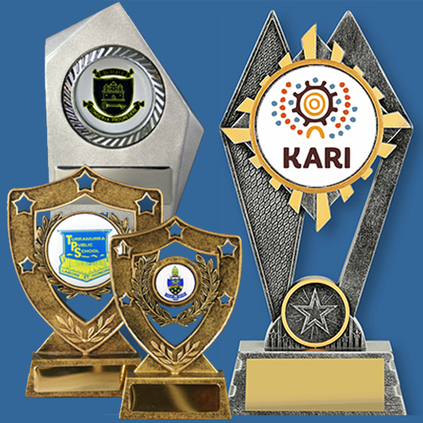 Business Logo Trophies Resin