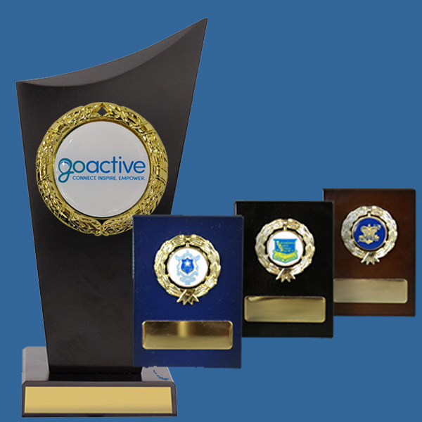 Business Logo Trophies Timber