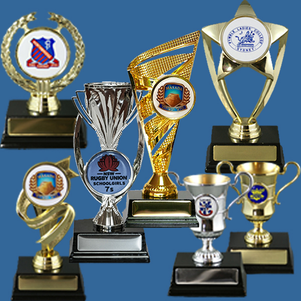 Business Logo Trophies Plastic