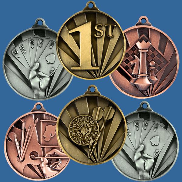 Sunrise Series Medals