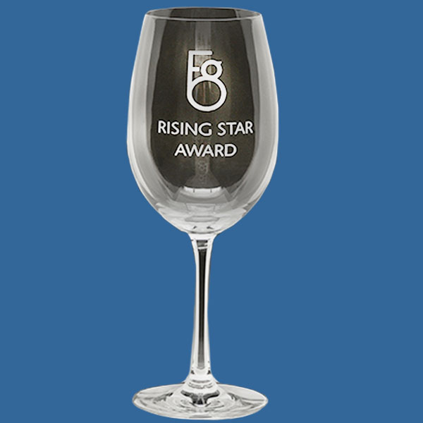 Wine Glass 380ml, Quality Sandblast Engrave to 1 side, Quantity Discounts