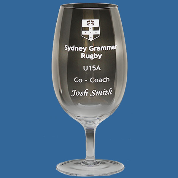 Tulip Beer Glass 570ml, Quality Sandblast Engrave 1 side, Quantity Discounts