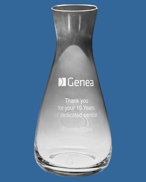 Glass Wine Carafe 1000ml, Quality Sandblast Engrave to 1 side, Qty Discounts