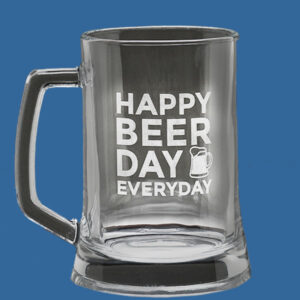 Value Beer Tankard 500ml, Quality Sandblast Engrave to 1 side, Qty Discounts