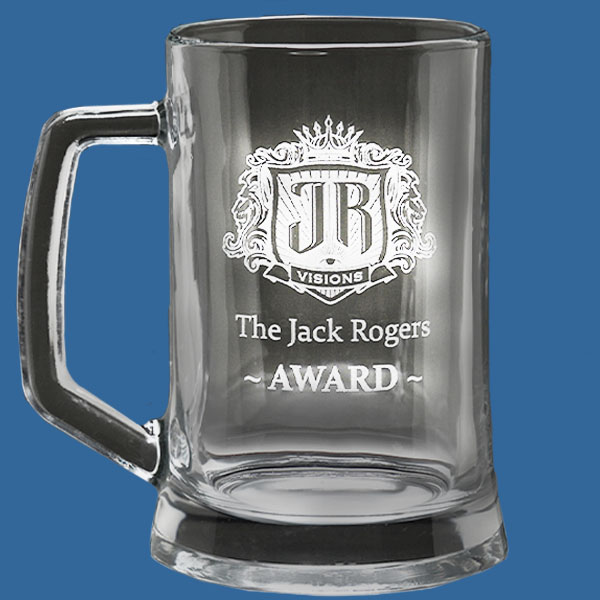 Value Beer Tankard 650ml, Quality Sandblast Engrave to 1 side, Qty Discounts