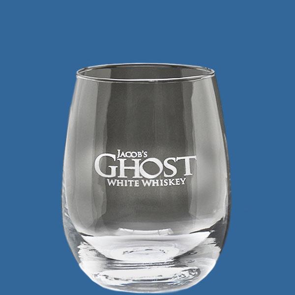 Value Stemless Glass 410ml, Quality Sandblast Engrave 1 side, Qty Discounts